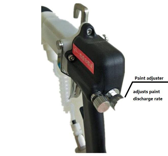 HDA high pressure air manual electrostatic liquid paint spray gun | www.hdaspraygun.com