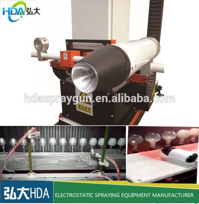 HDA-50 electrostatic spray machine   www.hdaspraygun.com